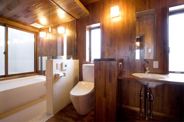 浴室~トイレ~洗面