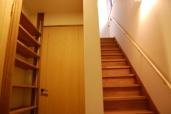魚津のいえ/階段