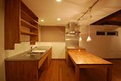 常盤台のいえ/キッチン
